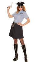 Police Officer Girl Costume (04014)